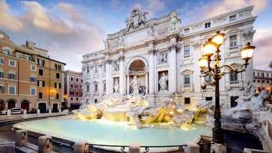 Located in the Quirinale district, the stunning Trevi fountain is one of the oldest water sources in Rome and should definitely be on your Italy itinerary.