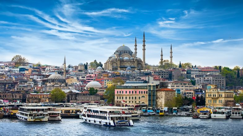 A trip to Turkey will afford you delightful culture that has been vastly influenced by the Romans and the Ottomans and some of the most delicious cuisines.