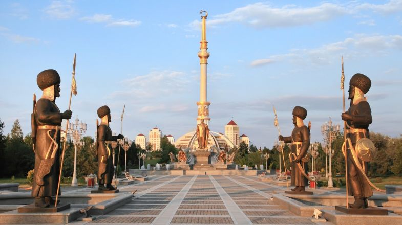While tourism is welcome in Turkmenistan, the country's strict governance means a guided tour is absolutely necessary when on a trip the country.