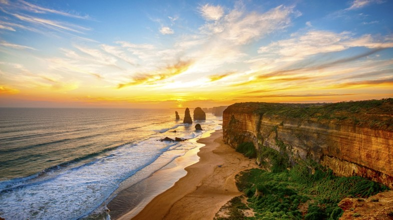 The Twelve Apostles is situated in Southern Australia.
