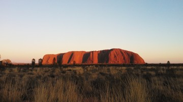 While accommodation inside Uluru Kata-Tjuta National Park is not allowed, there are several accommodations right outside the park's premises.