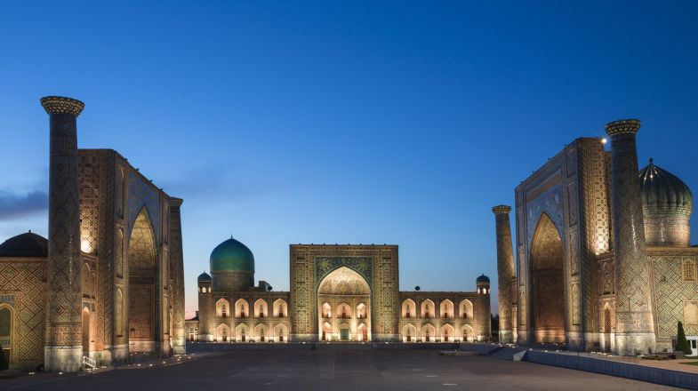 A trip to Uzbekistan is incomplete without visiting the Registan