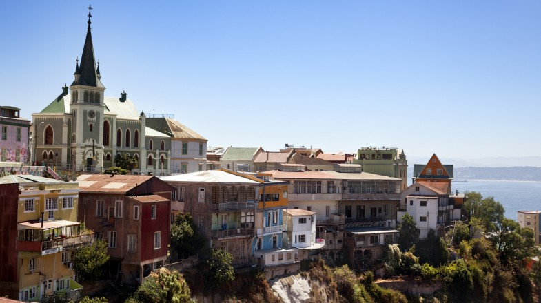 A trip to Valparaiso captures Chile at its best with its bright and colorful buildings and eclectic array of dining options.