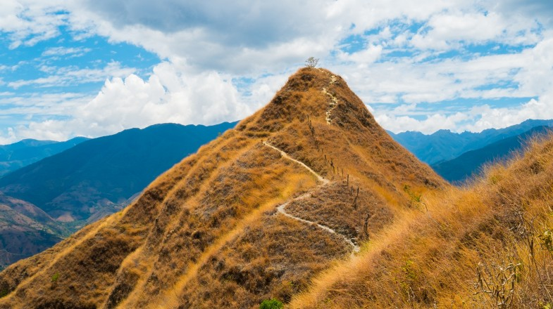 The Vilcabamba trek is one of the best but remote treks in Peru.