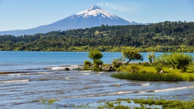 The Villarrica Volcano, at 2,847m is both one of Chile's most popular volcanoes and one of its most active.
