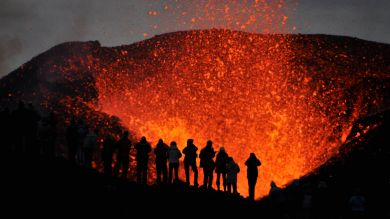 Volcanoes in Iceland is one of Iceland's biggest attractions.