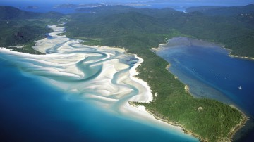 Whitehaven beach in Australia is believed to be one of the best beach destinations in the world.