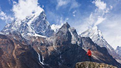 Amazing view of Everest National Park