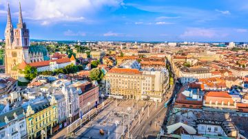 Zagreb, the capital and the largest city of Croatia