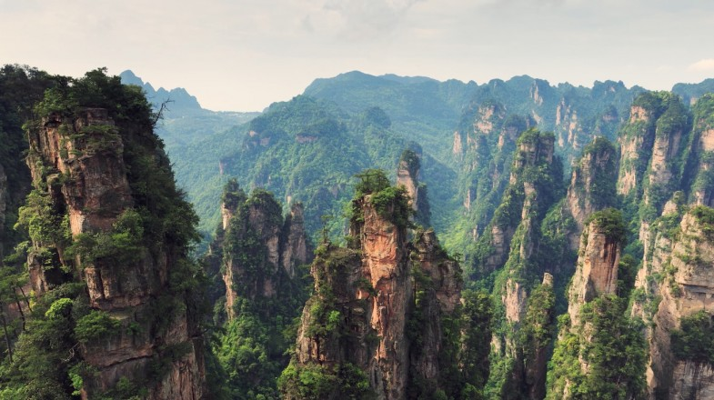 "Zhangjiajie National Forest Park, also called ""Avatar Mountains"" is one of the most majestic feats of nature on Earth."