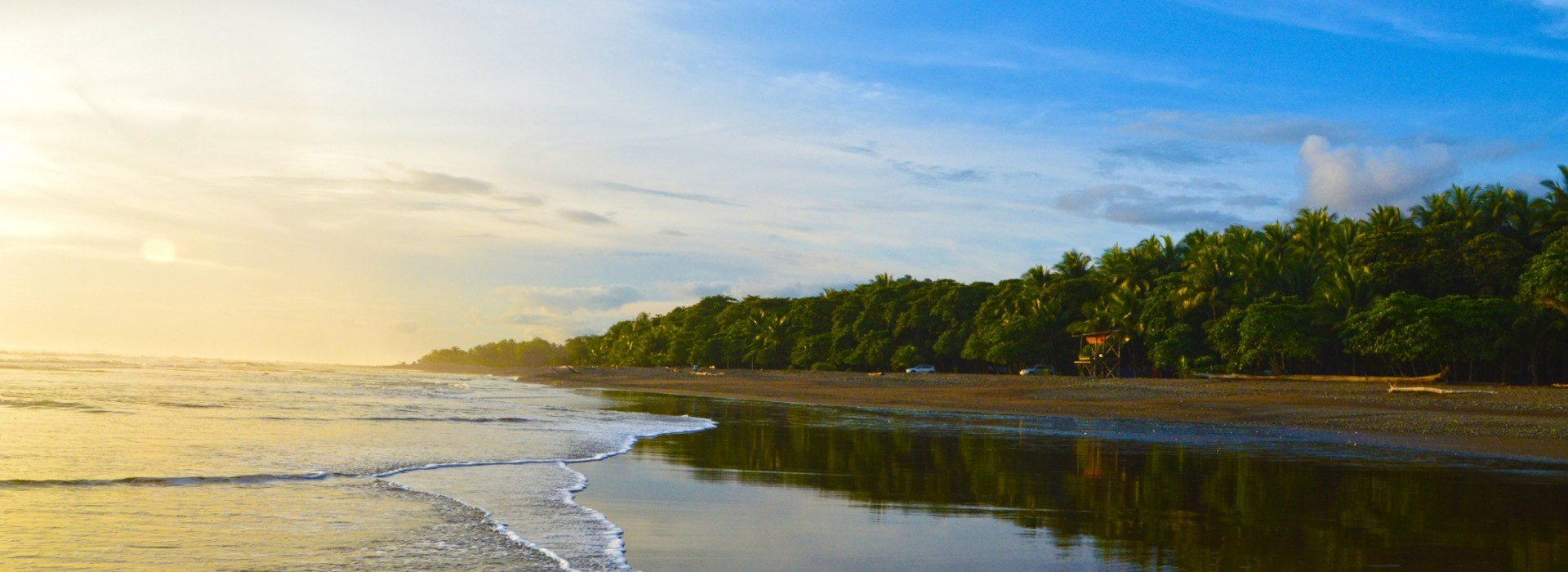 Guanacaste Province of Costa Rica is home to many beaches on the Pacific coastal shores.