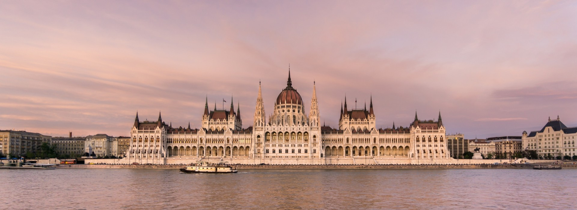 Hungarian Parliament Building, one of Budapest's most iconic landmarks