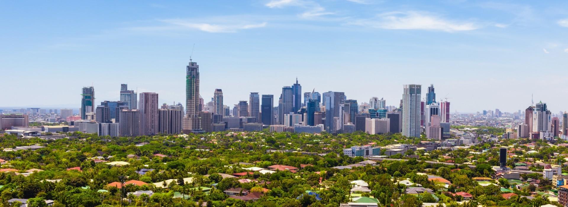 The beautiful metro Manila Skyline