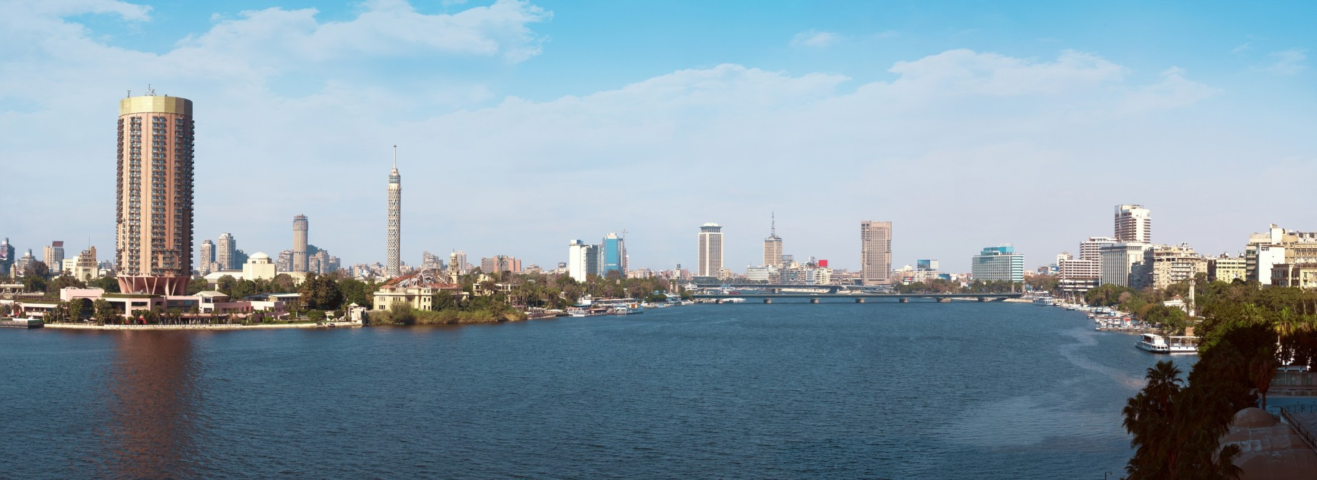 Panoramic view of Cairo City
