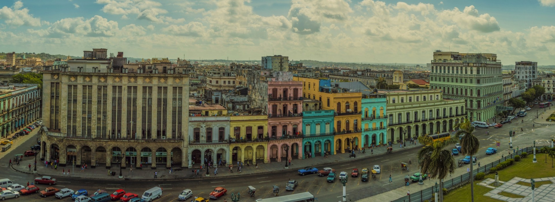 Panoramic view of Havana city, Cuba