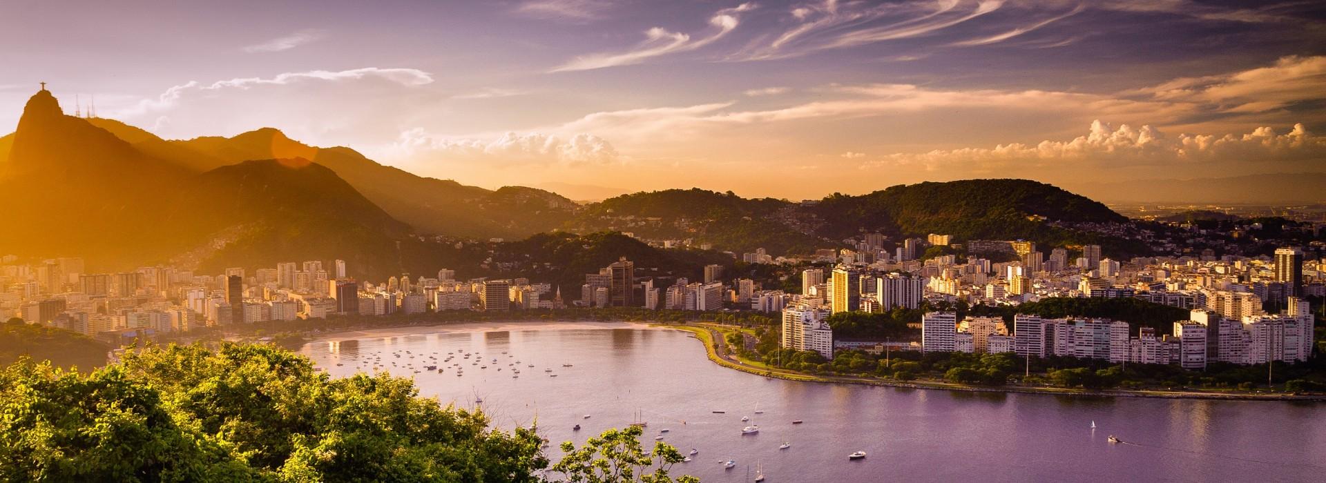 Panoramic view of Rio De Janerio