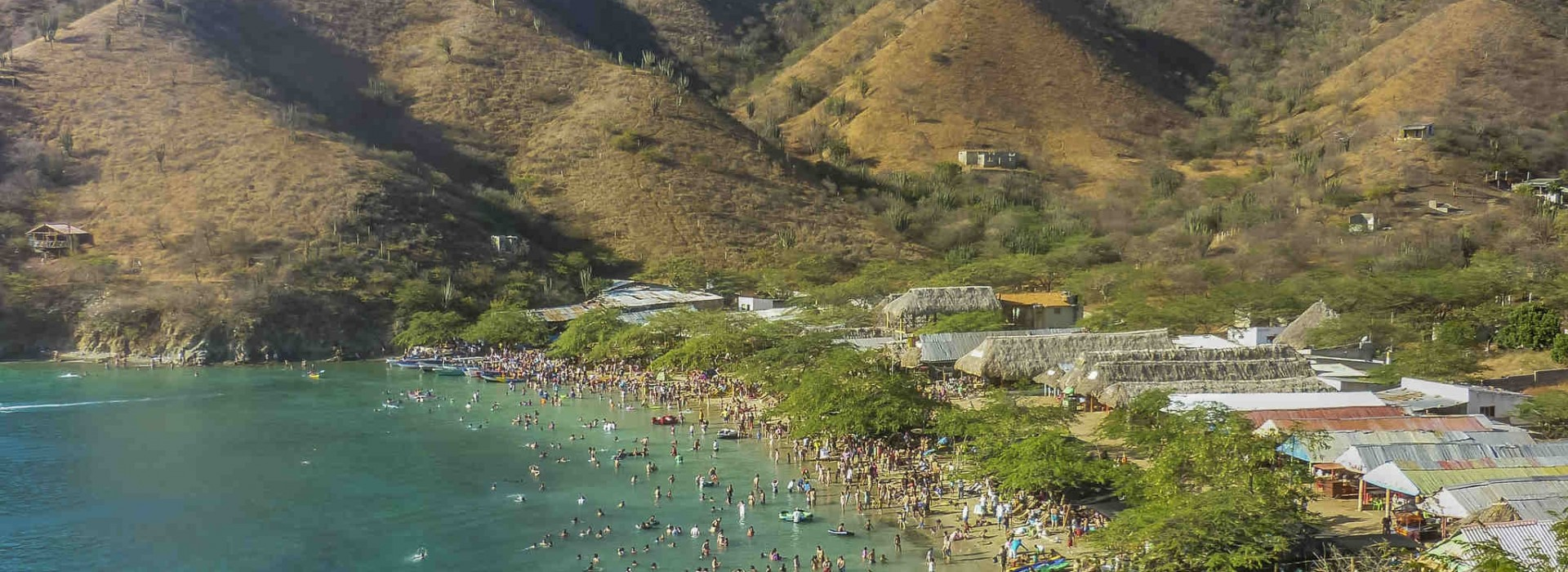 Visit Santa Marta in Colombia to see some of the loveliest beaches