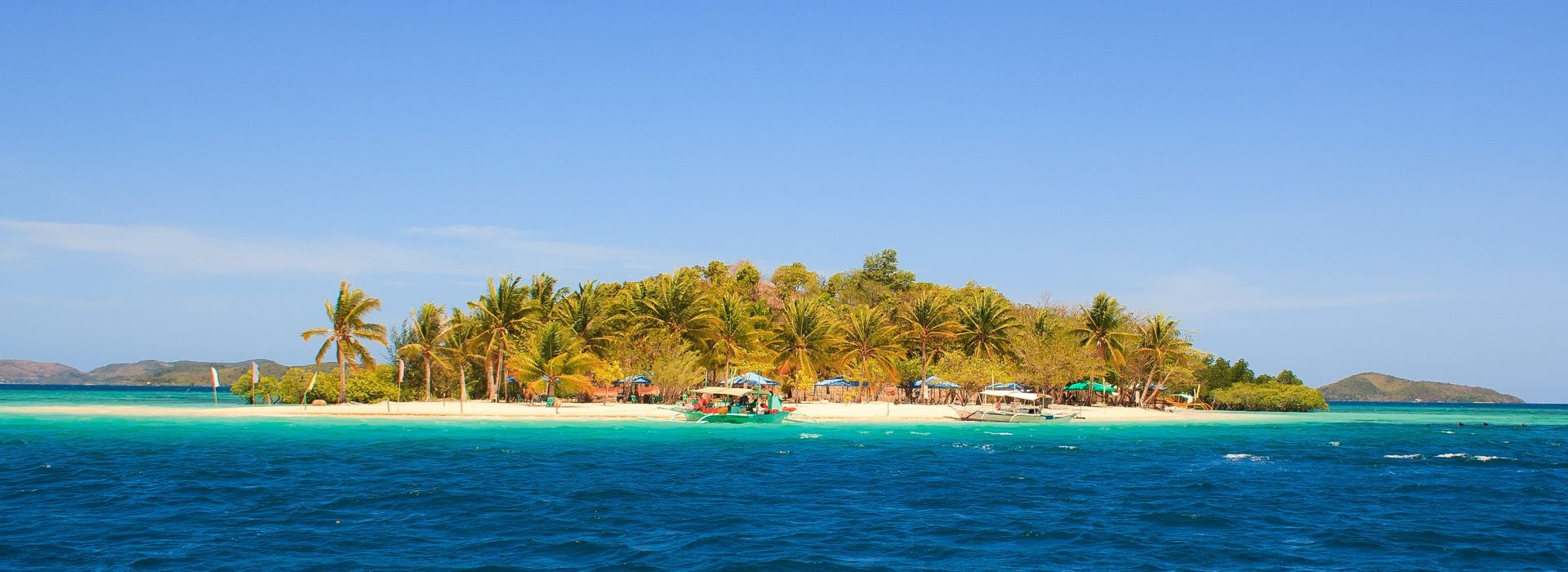 Boat tours, water sports and marine wildlife in Philippines