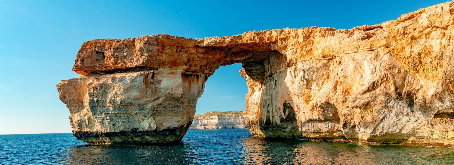 A trip to Gozo is an invitation to play in its sandy beaches