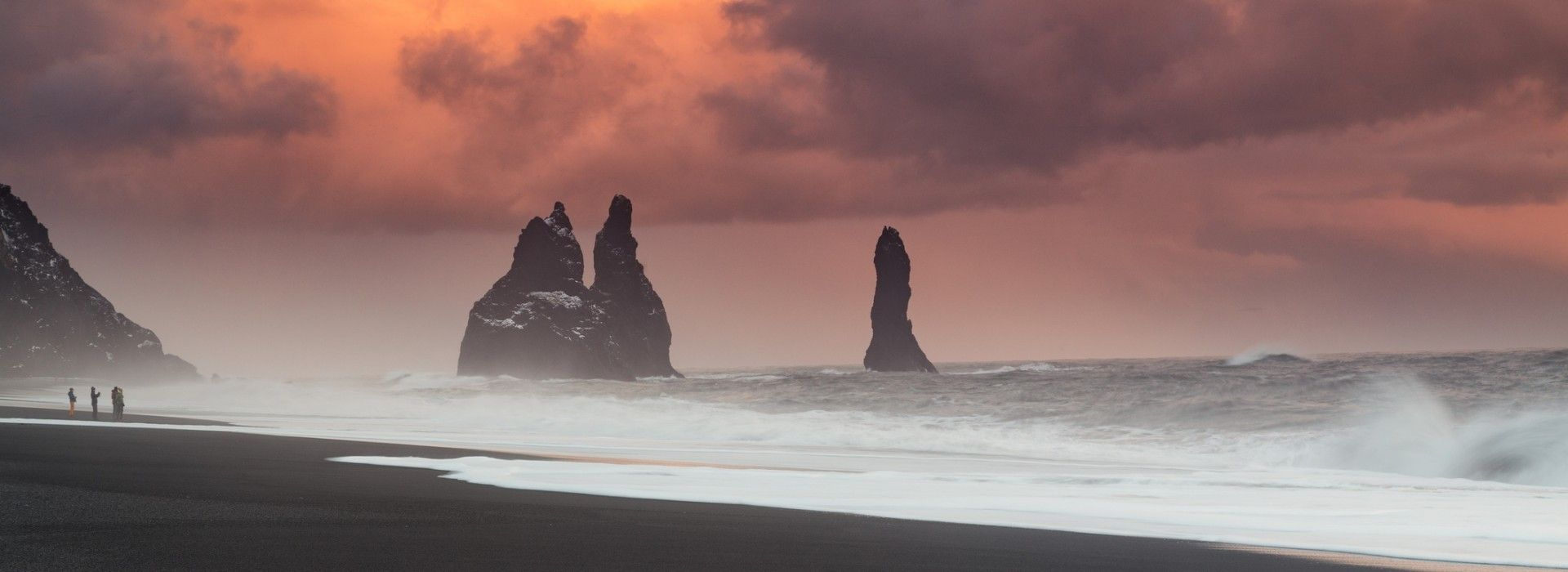A trip to South Coast of Iceland will bring you to awesome natural sights