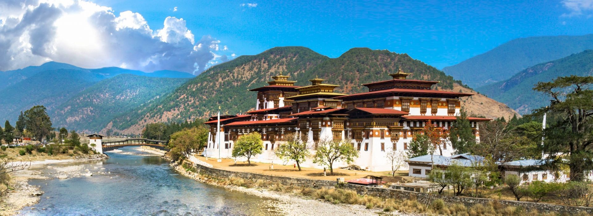 Air tours, road trips and transfers in Bhutan