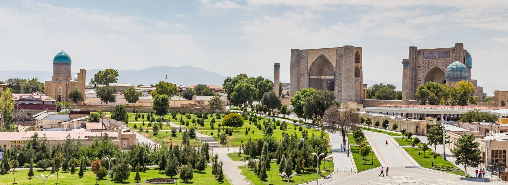 Air tours, road trips and transfers in Uzbekistan