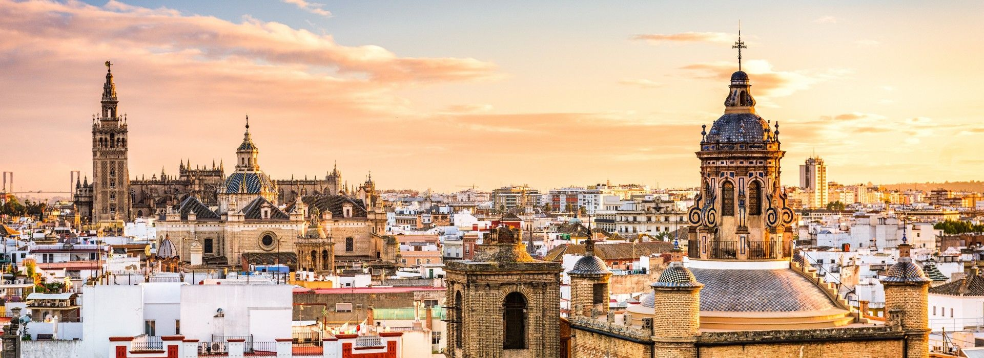 Amazing view of Seville Skyline
