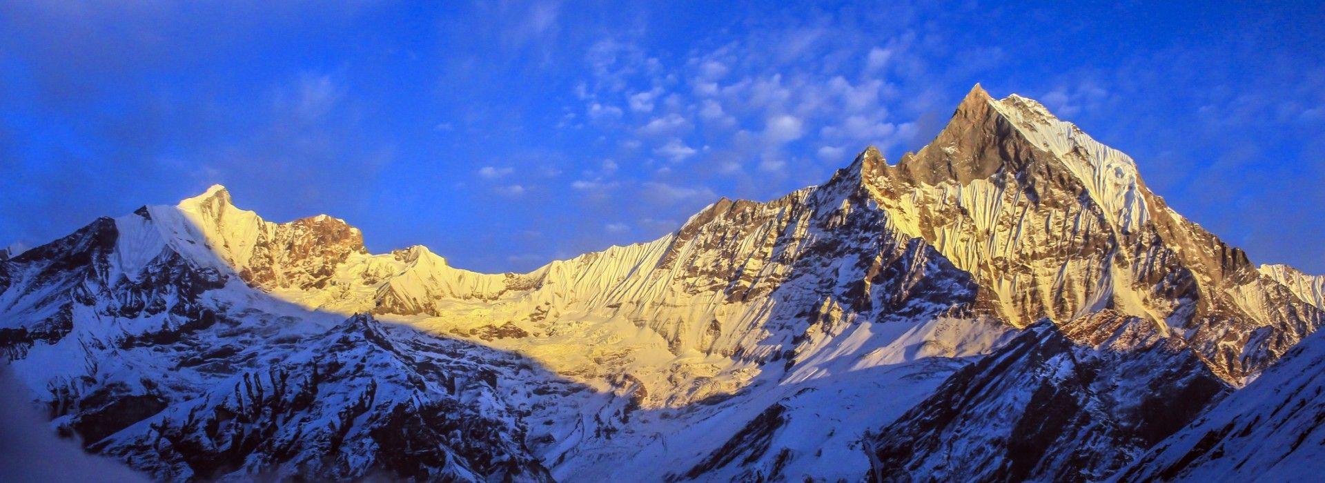 Annapurna Base Camp Trek - View of the Annapurna Range