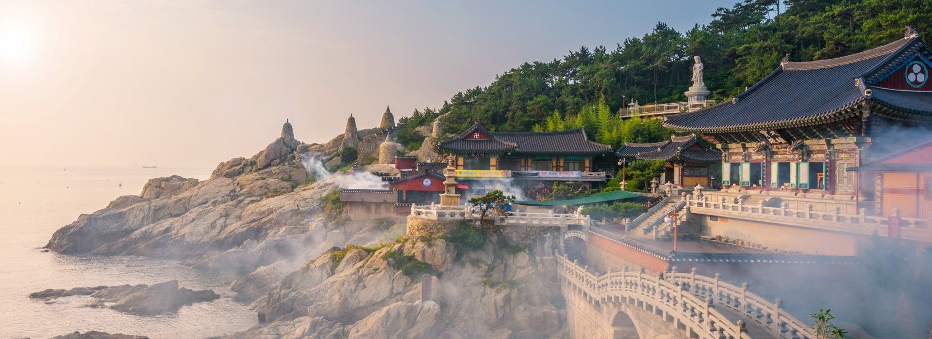 Beach, romance, getaways and relaxation Tours in South Korea