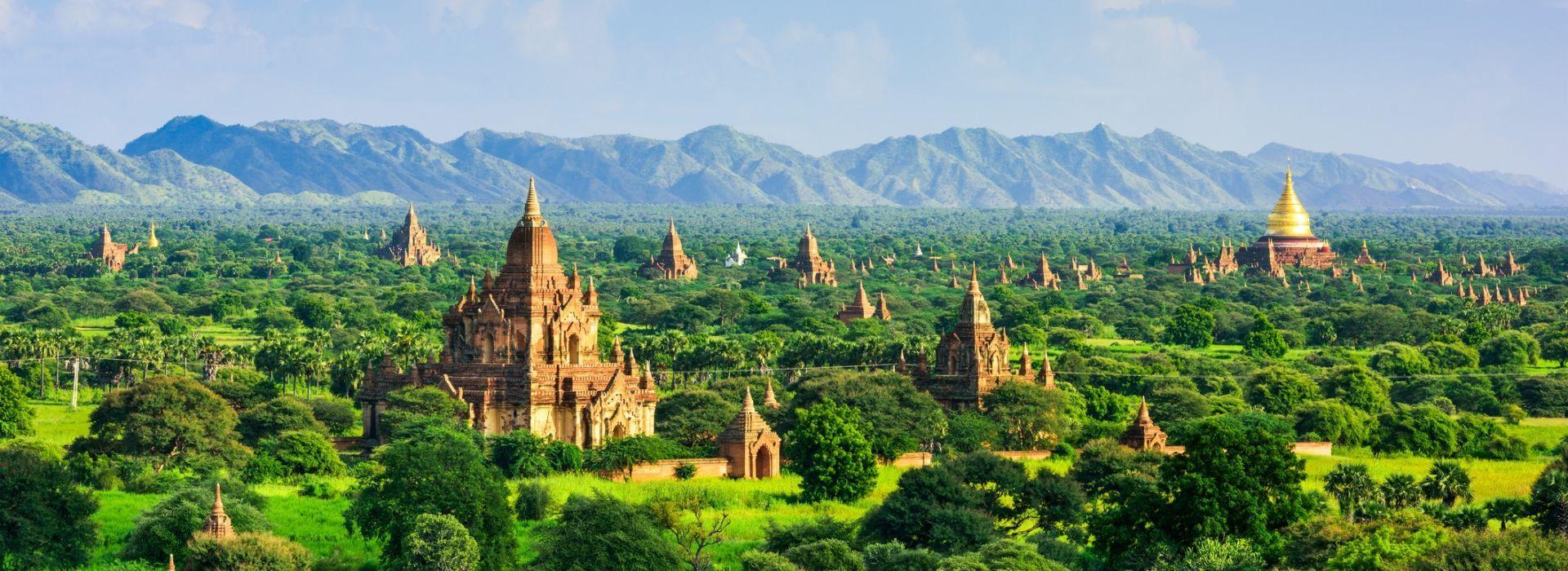 Bicycle tours in Bagan