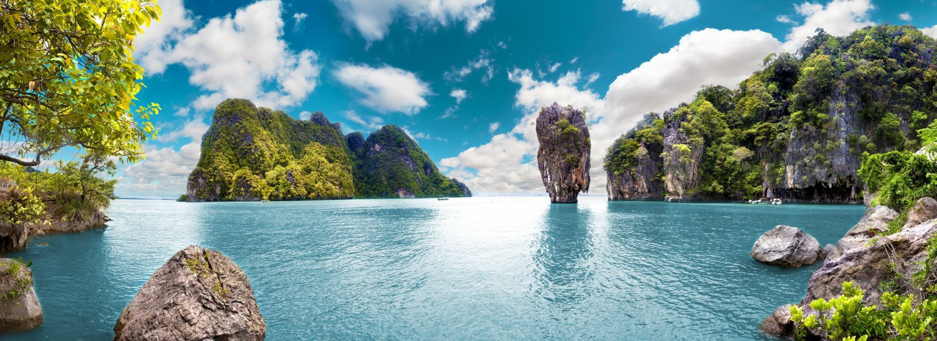 Boat tours, water sports and marine wildlife in Krabi