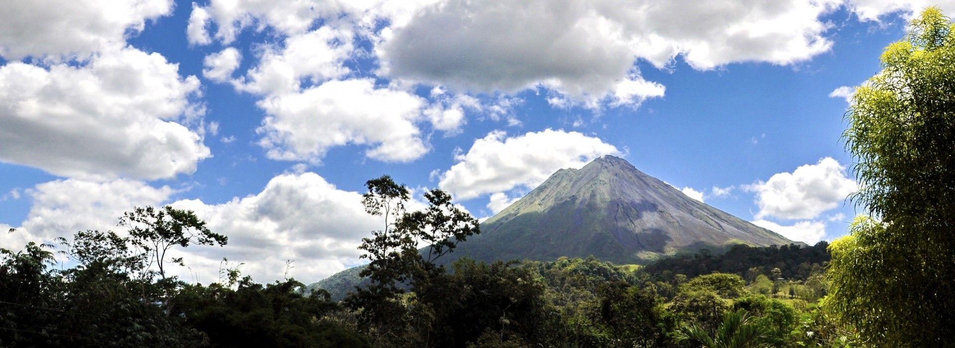 La Fortuna is home to Costa Rica's most popular volcano, Arenal Volcano.