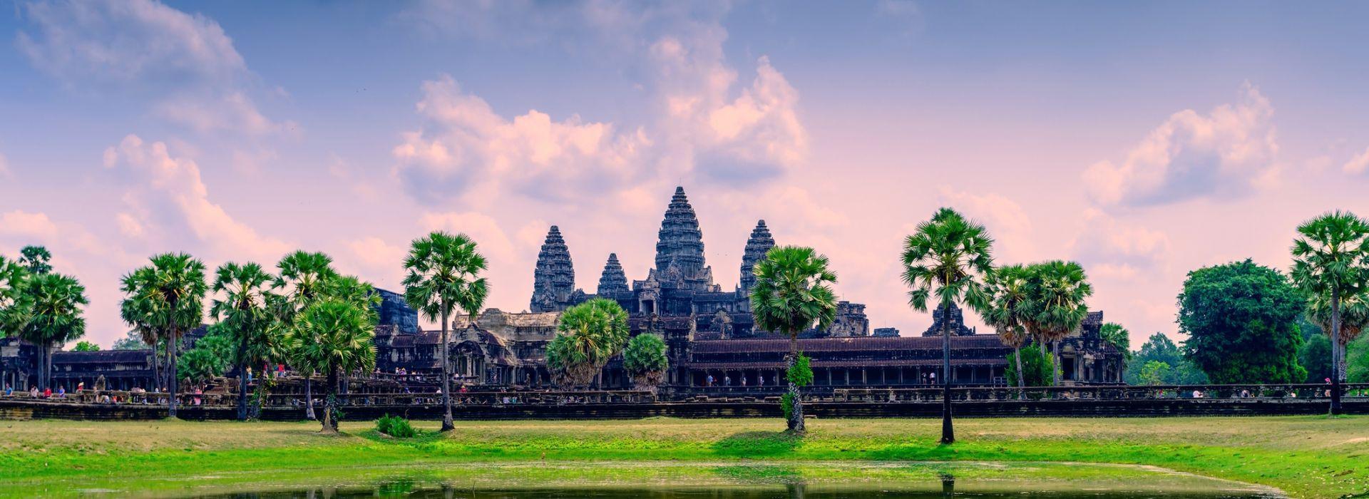 Natural landmarks sightseeing Tours in Angkor Wat