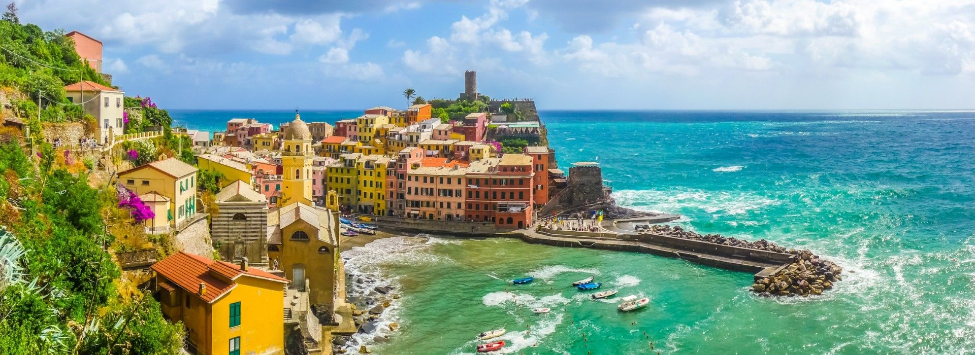 Natural landmarks sightseeing Tours in Italy