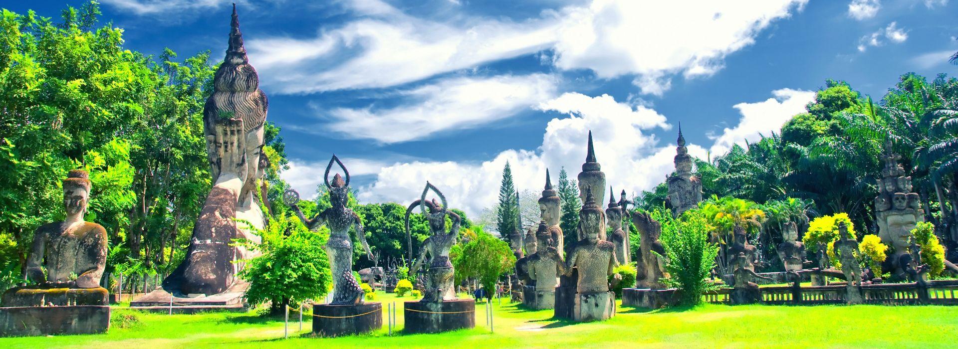Natural landmarks sightseeing Tours in Laos