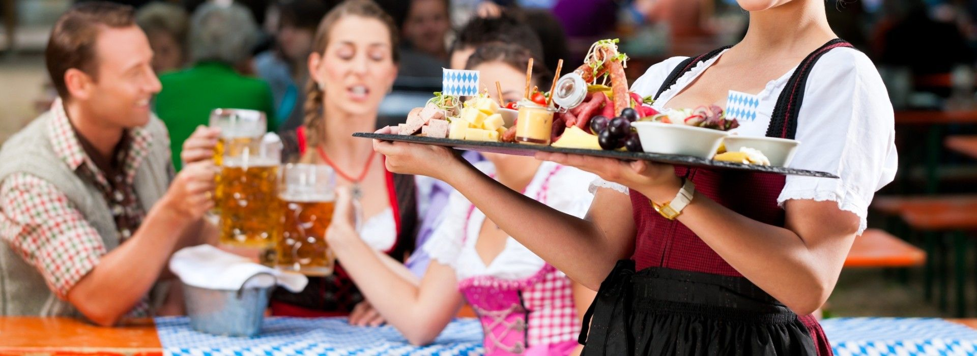Oktoberfest is a time to indulge in some of Germany's best cuisines.