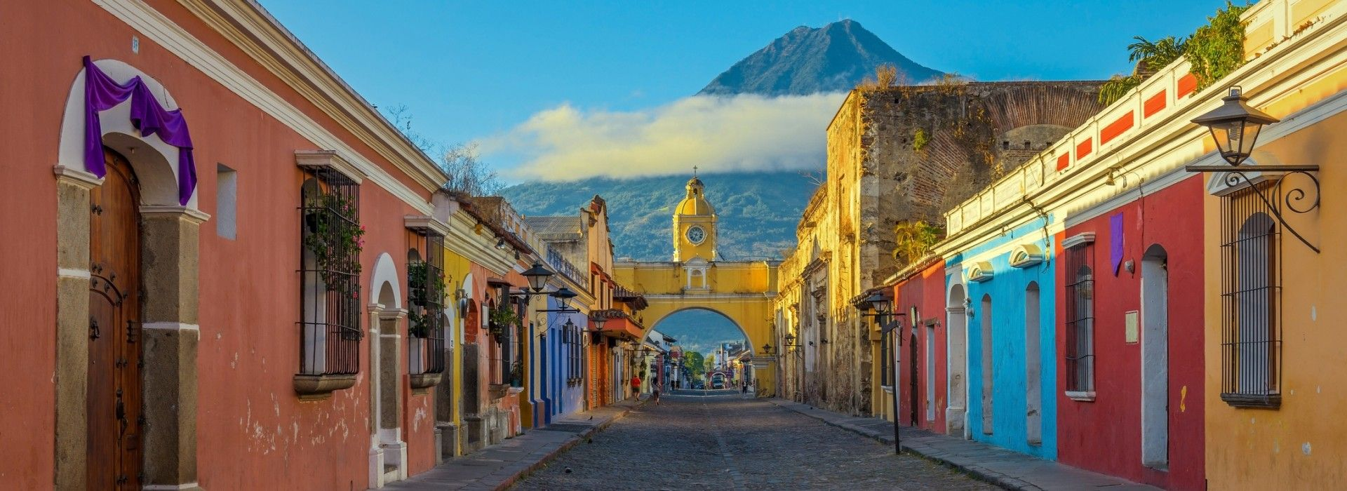 Santa Catalina Arch in Guatemala