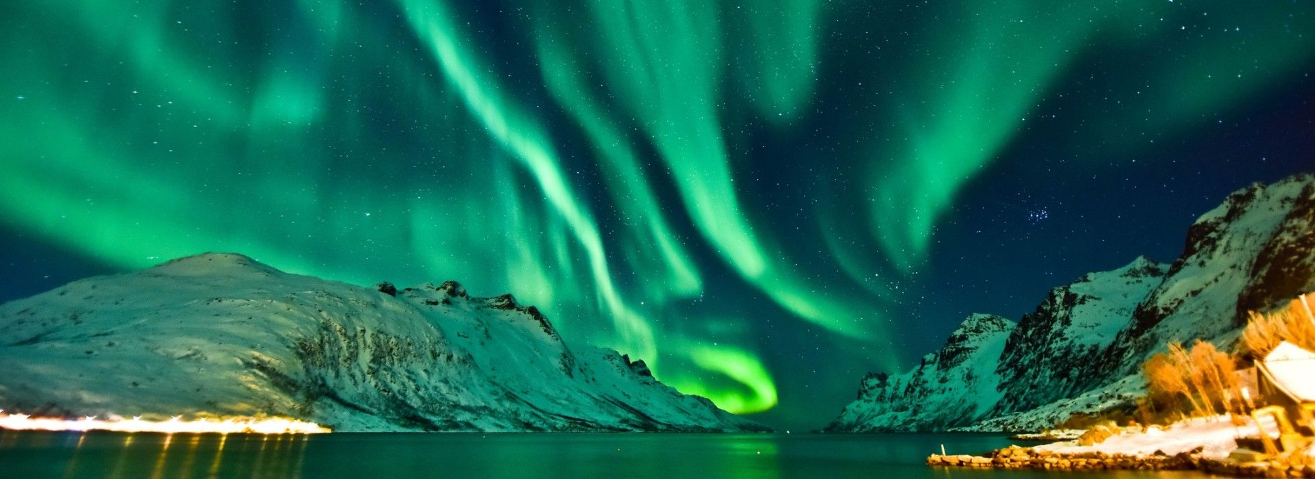 The Northern Lights are best viewed away from the cities.