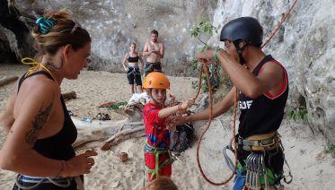 1/2 Day Intro to Rock Climbing  Railay Beach