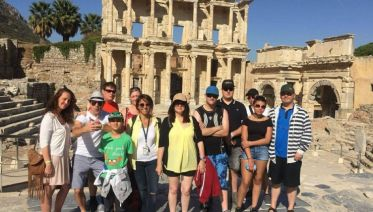 2 Days Tour To Ephesus&pamukkale By Flight From-to Istanbul