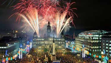 24 hour Party Train to Hogmanay
