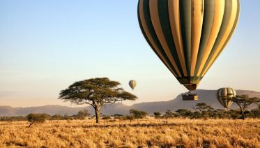 3-Day Private Fly-In Serengeti Tour with Hot Air Balloon