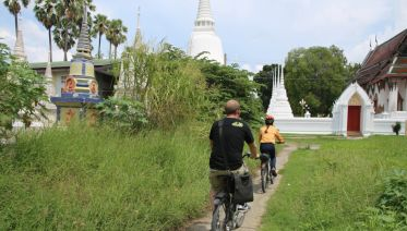 3 Hours Ayutthaya City Tour by Bike
