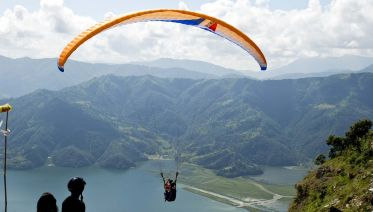 30-minute Paragliding in Pokhara