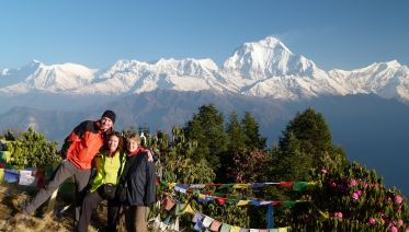 4 Days Trek To Poon Hill