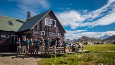 5-Day Laugavegur Trek in Huts - Part 1