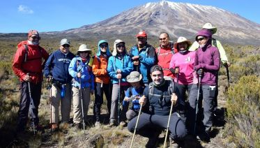 6 Day Machame Route Kilimanjaro Trek