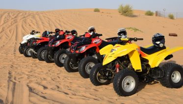60 Minute Quad Bike Experience From Dubai