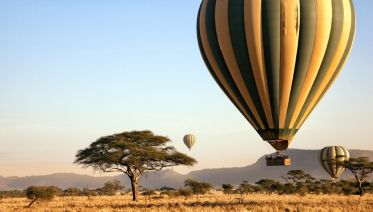 7 Day Serengeti Balloon Safari And Game Drives