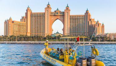 75 Minute Atlantis Sightseeing Boat Tour Dubai Marina